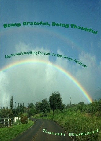 Being Grateful Being Thankful 5X7