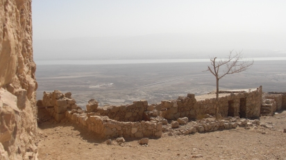 74 View over the Dead Sea