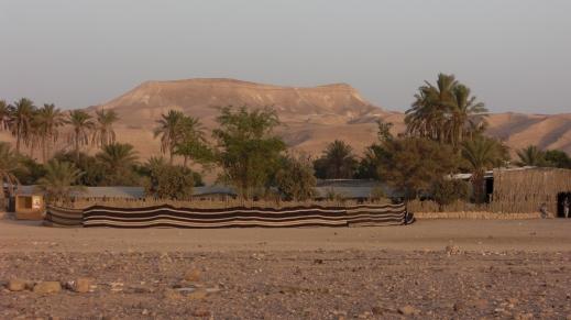84 Masada behind the camp