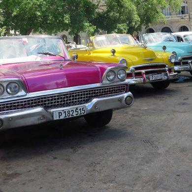 taxis cuba