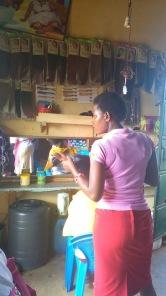 Kenya hairdresser