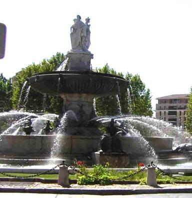 Provence-fountain