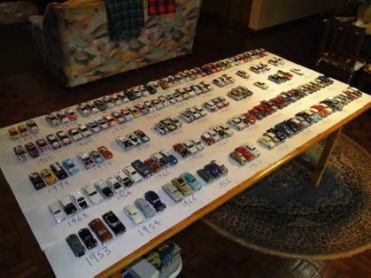 Tim's model cars