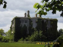 Tuddenham House, now a ruin